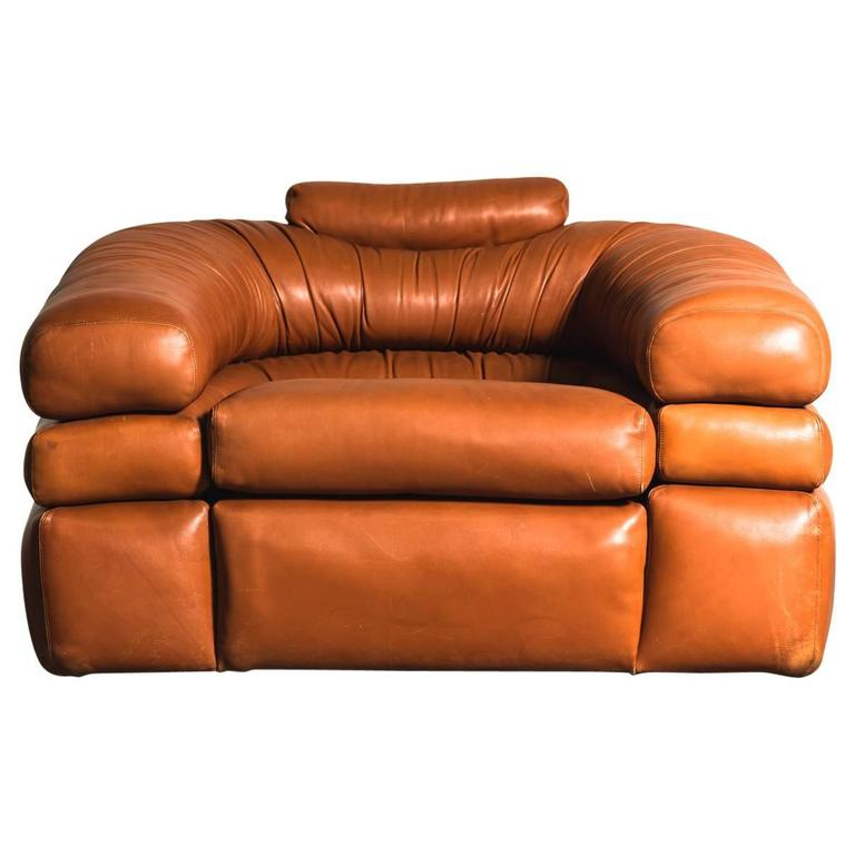 1967 lounge chair by de pas d urbino lomazzi for zanotta for Chaise zanotta