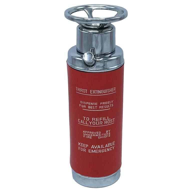 1960s Mid Century Modern Fire Extinguisher Decanter At 1stdibs
