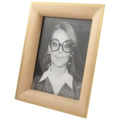 mid century modern parchment picture photo frame france circa 1960s