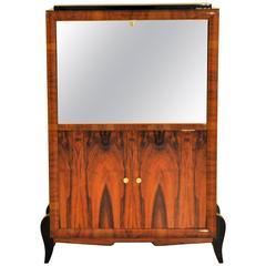 Art Deco Walnut Cabinet or Bureau
