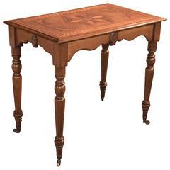 Antique Side Table, Georgian Oak, circa 1800