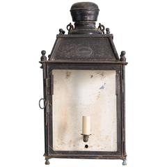 19th Century French Wall Lantern