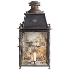 Nineteenth Century French Wall Lantern