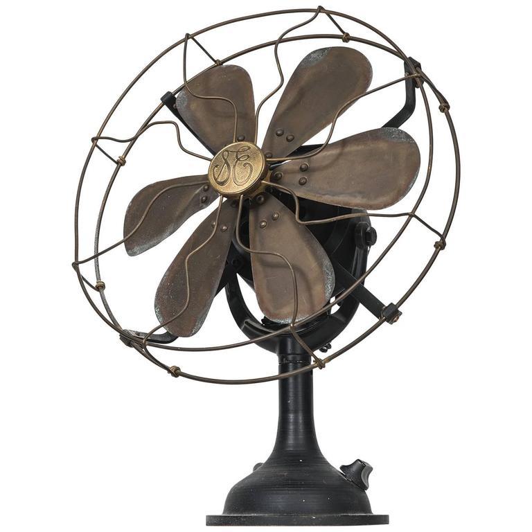 Mid-Century Industrial Fan by General Electric in America