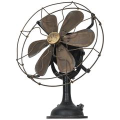 Mid-Century Industrial Fan by General Electric in America