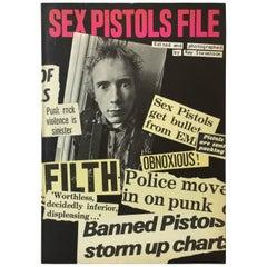 Sex Pistols File, Ray Stevenson First Edition, 1978