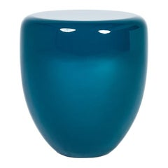 Side Table, Peacock Blue DOT by Reda Amalou Design, 2017 -Glossy or mate lacquer