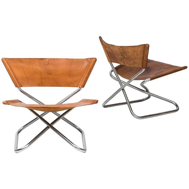 Erik Magnussen Z Easy Chairs by Torben Ørskov in Denmark For Sale