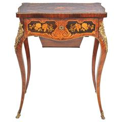 Louis XV Style Side / Dressing Table, 19th Century