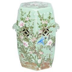 19th Century Japanese Porcelain Garden Seat