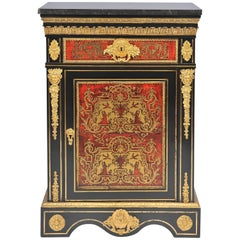 19th Century, French Boulle Cabinet