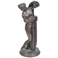 19th Century Bronze of Female Nude by Amodia
