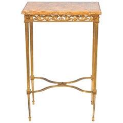 Louis XVI Style Ormolu Side Table