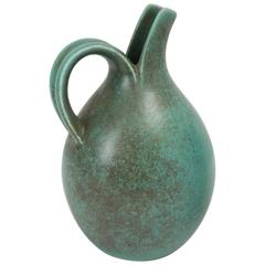Stoneware Split Pitcher by Eva Stæhr Nielsen for Saxbo, circa 1950