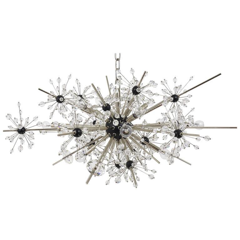 Huge Metropolitan Opera Crystal Sputnik Met Chandelier by Lobmeyr Vienna