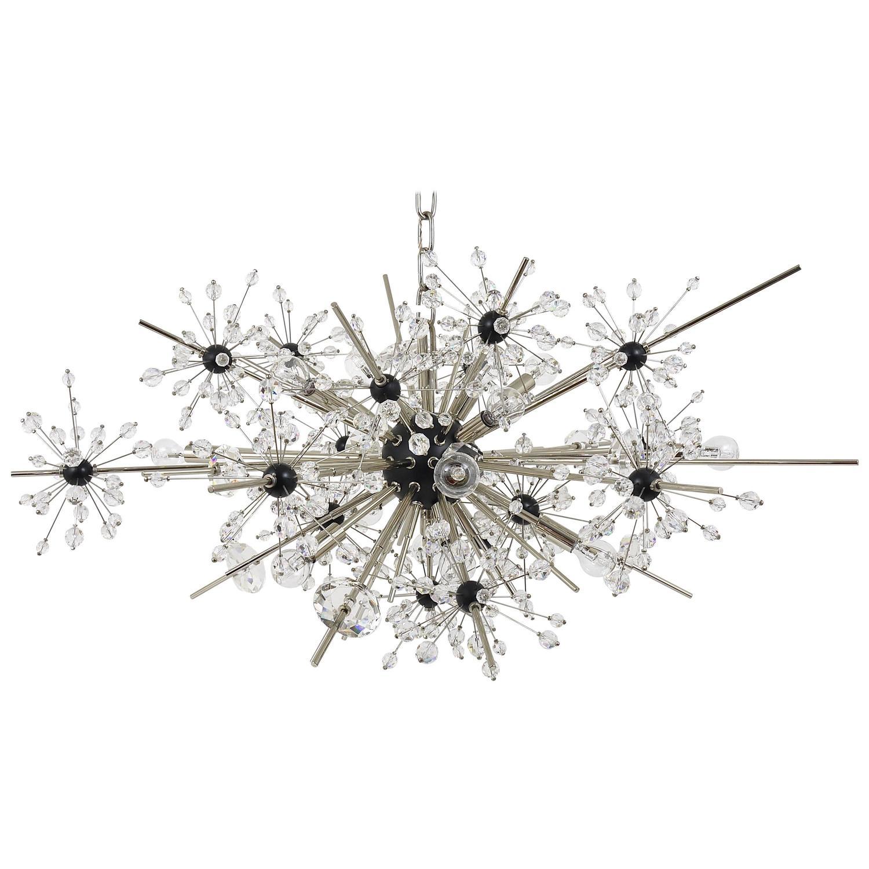 Huge Metropolitan Opera Crystal Sputnik Met Chandelier by Lobmeyr