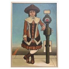 American 20th Century Oil on Canvas, Robert Springfels