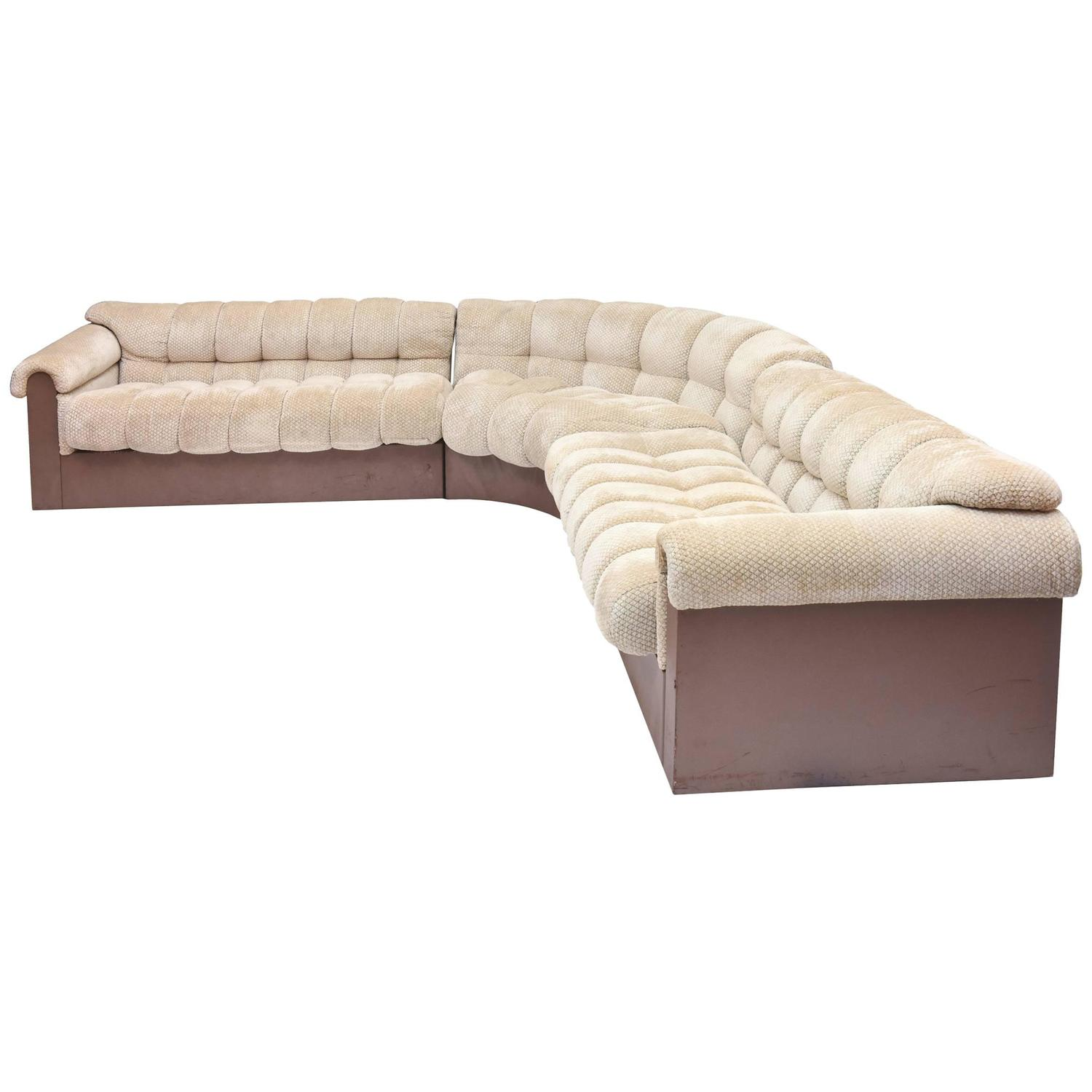 1980s Sectional Sofas 20 For Sale at 1stdibs