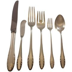 Lyric by Gorham Sterling Silver Flatware Set for Eight Service 54 Pieces