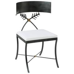 Tara Shaw Maison Iron Klismos Chair