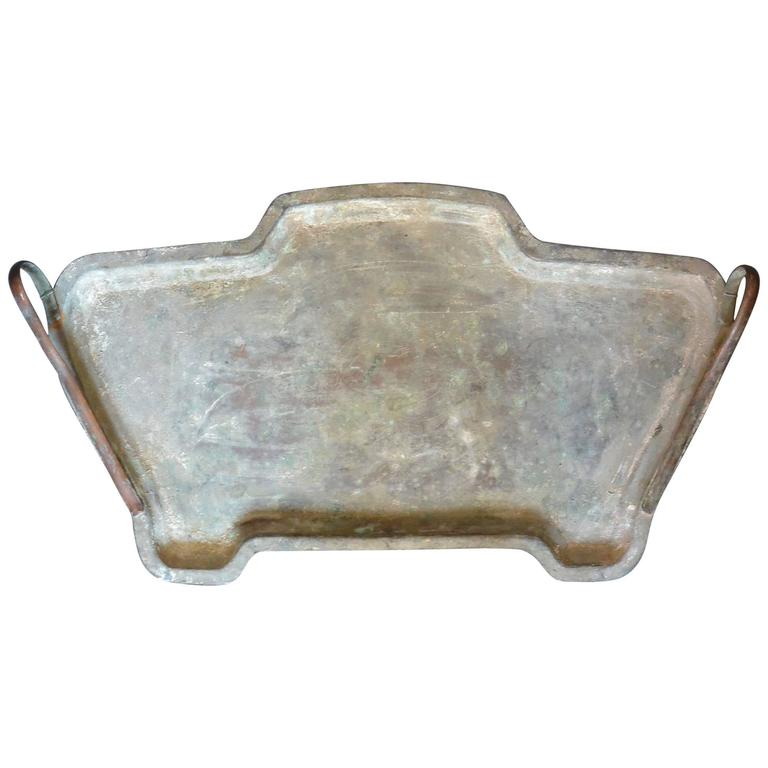 Vintage Egyptian Deco Tray For Sale