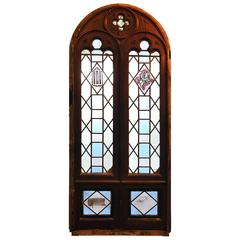 early 20th century gothic window - Window Frames For Sale