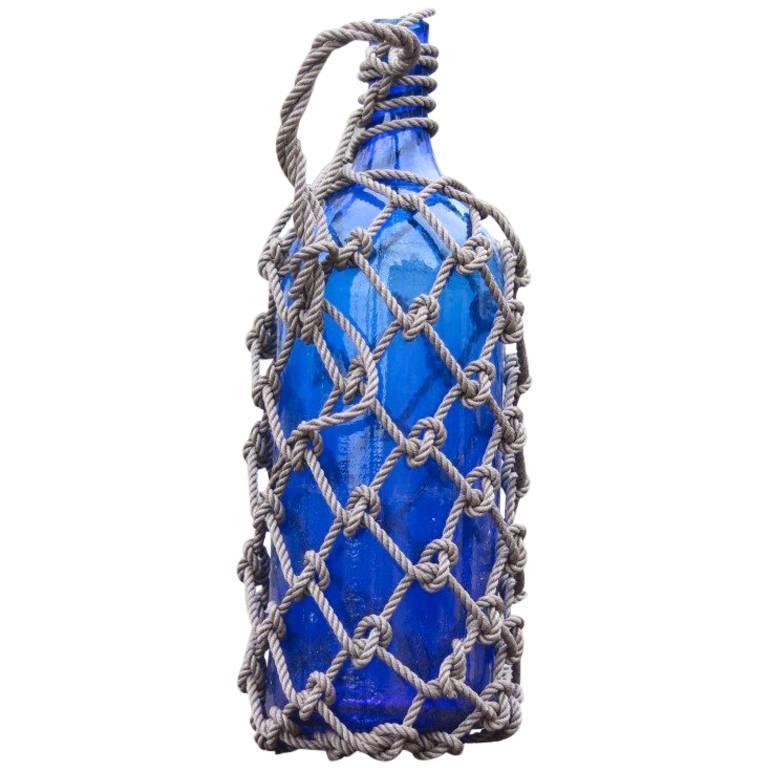 Cobalt Blue Saki Jug