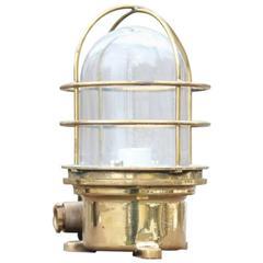 Brass Bulkhead Light