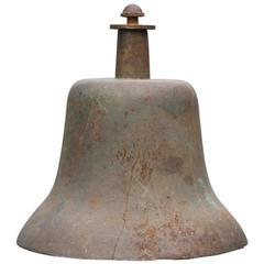 Heavy Bronze US Navy Bell