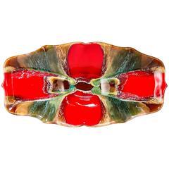 Mid-Century Oblong Vallauris Platter