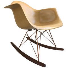 1960s Charles Eames for Herman Miller RAR Shell Rocker