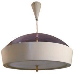 Mid-Century Modern Italian Pendant Light