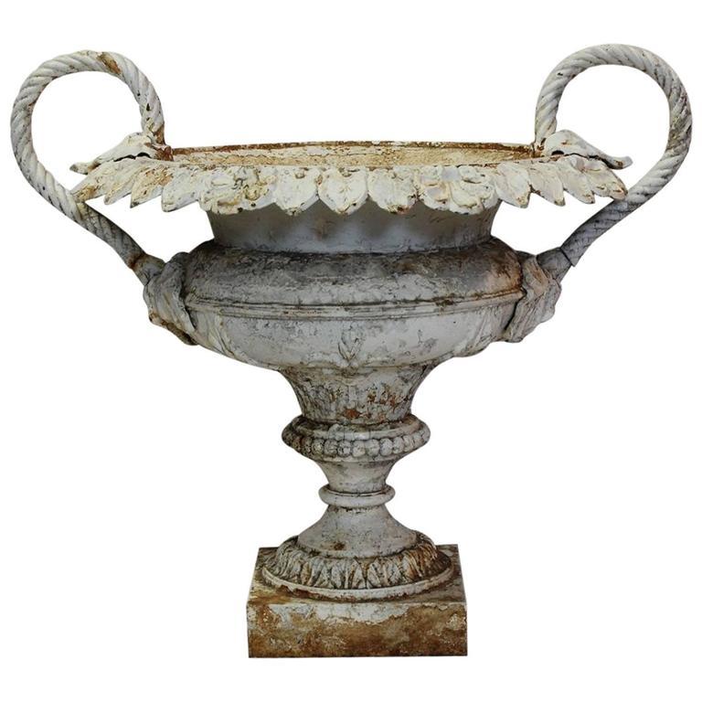 Spectacular 19th Century Decorative French Cast Iron Urn
