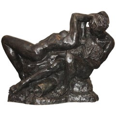 Romeo & Juliet Very Impressive Bronze Sculpture
