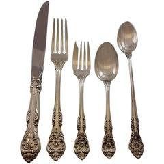 King Edward by Gorham Sterling Silver Flatware Set 12 Service 69 Pcs Dinner