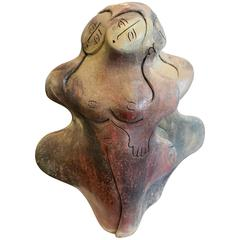 Ceramic Sculpture of Nude Women