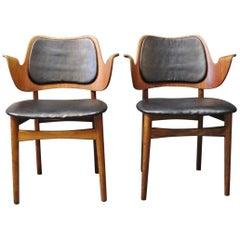 Pair of Armchairs Designed by Arne Hovmand Olsen, 1960s