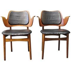 Pair of Armchairs Designed by Arne Hovmand Olsen, 1960s