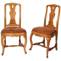 Pair of Chairs, Early Rococo, Stockholm, circa 1760