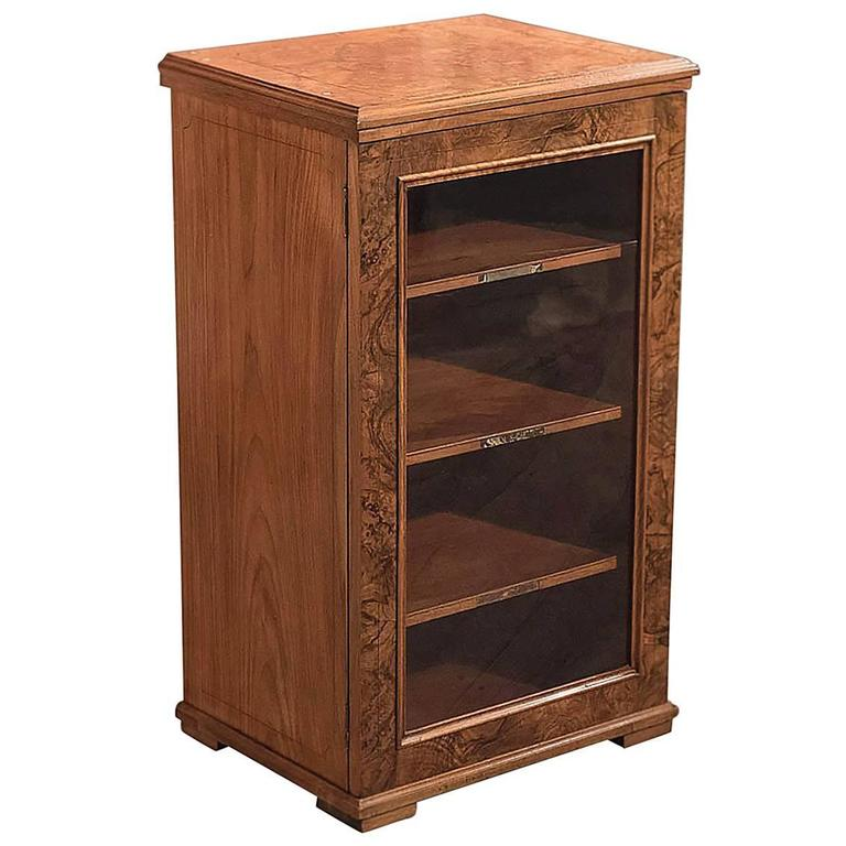 Antique Music Cabinet, Early Victorian, circa 1850 For Sale - Antique Music Cabinet, Early Victorian, Circa 1850 At 1stdibs