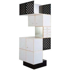 Ettore Sottsass Sideboard Oak Design Edizioni, Italy