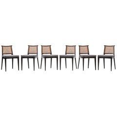 Set of Six Edward Wormley Chairs 'b'