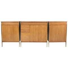 Paul McCobb Connoisseur Collection Three-Piece Sideboard for H. Sacks and Son