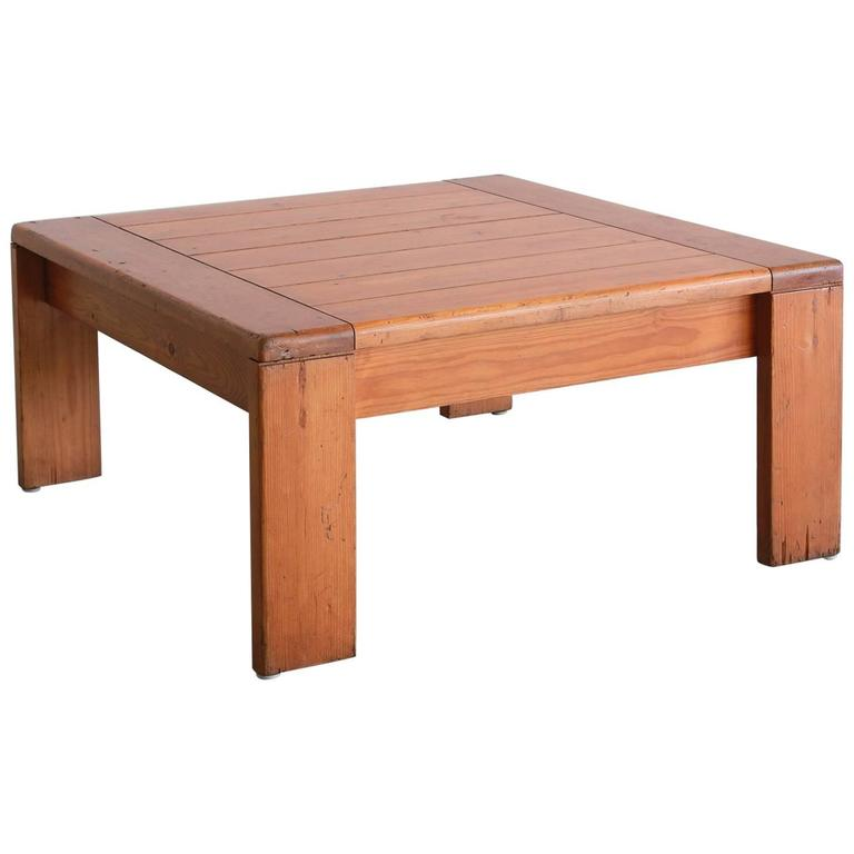 Charlotte Perriand Coffee Table For Sale