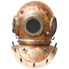 Copper Diver's Helmet by Siebe Gorman