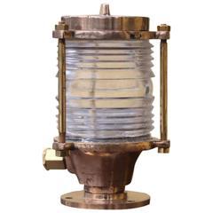 Brass Pier Light