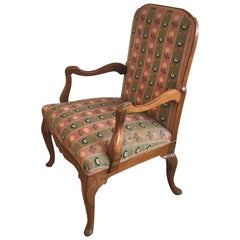 19th Century French Fruitwood Armchair