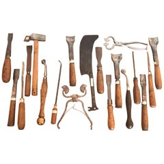 18th and 19th Century French Woodworkers Tools