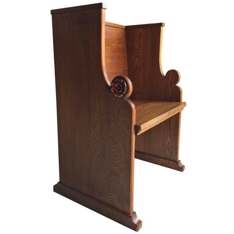 Antique Pitch Pine Miniature Pew Settle,Apprentice Piece,Book Trough,Miniature Furniture,Antique Pew,Antique Settle,Miniature Bench,Antiques