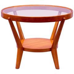 1940s Coffee Table by Kozelka & Kropacek in Light Oak